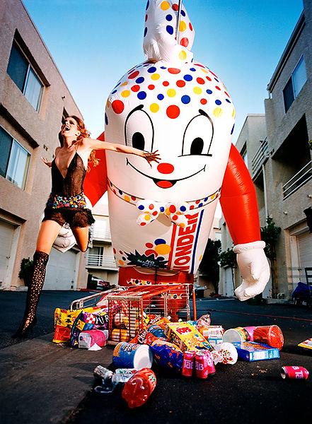 David LaChapelle, Wonderbread, 2002
