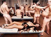 David LaChapelle, Russian Bath House, Moscow, Debased Desire, 2003