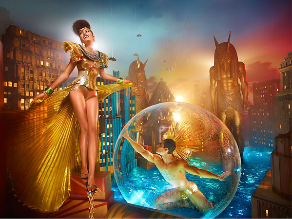 David LaChapelle, Chariot of the Gods, 2011