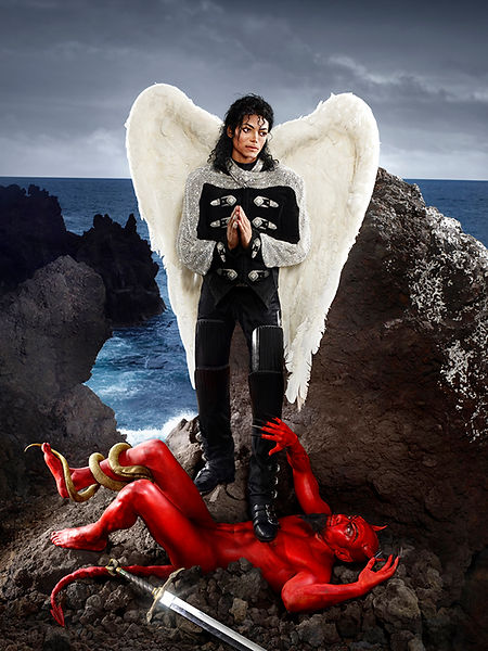 David LaChapelle, Archangel Michael: And No Message Could Have Been Any Clearer, 2007