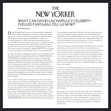 2017 The New Yorker Review