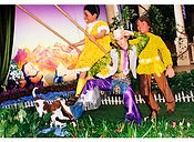 David LaChapelle, Cowboy on Swing, 2003