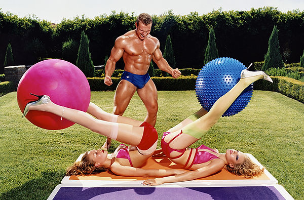 David LaChapelle, Steroids Shrink Balls, 2004