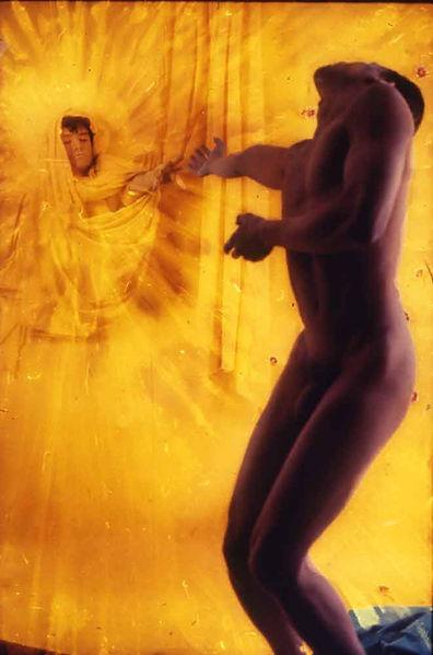 David LaChapelle, Reaching Towards the Sun, 1989