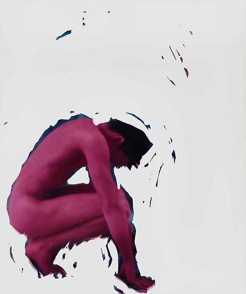 David LaChapelle, I Will Lift, 1989