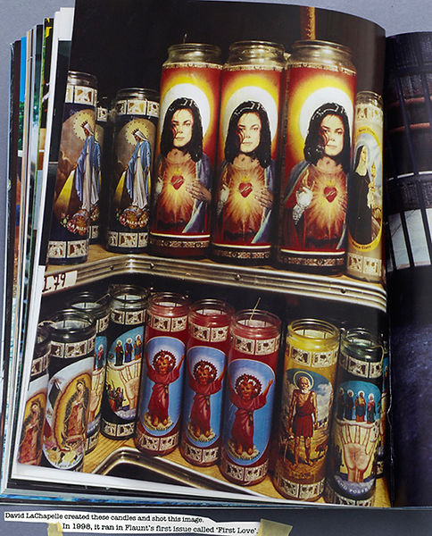 David LaChapelle, Untitled (Candles), 1998
