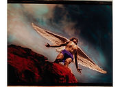 David LaChapelle, Fly on My Sweet Angel Fly on to the Sky, 1985