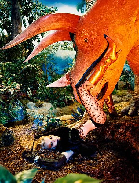 David LaChapelle, Cunnilingus Rex