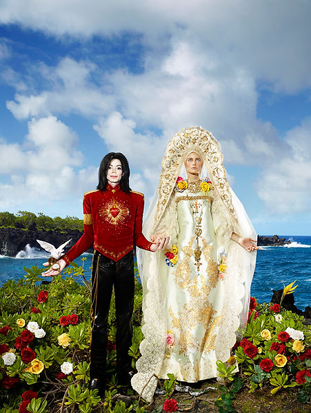 David LaChapelle, The Beatification: I'll Never Let You Part for You're Alwys in My Heart, 2007