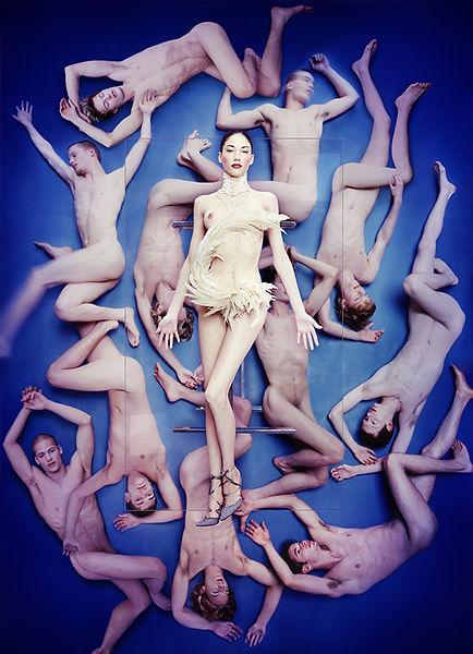 David LaChapelle, Lightness of Being, 1998