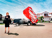David LaChapelle, I Buy a Big Car for Shopping, 2002