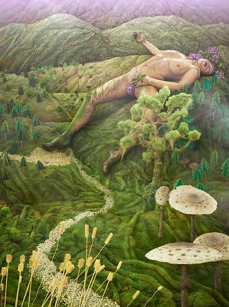 David LaChapelle, Gaia, 2011