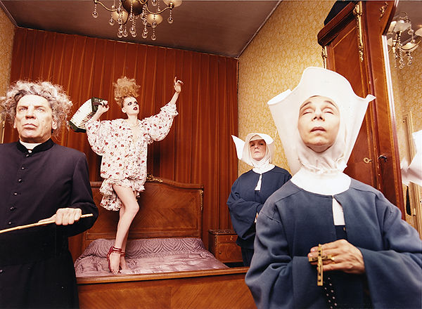 David LaChapelle, Untitled (Galliano: Nuns), 1996