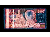 David LaChapelle, Negative Currency: 500 Baht Used As Negative, 2015