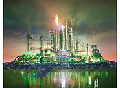 David LaChapelle, Land Scape: Emerald City, 2013