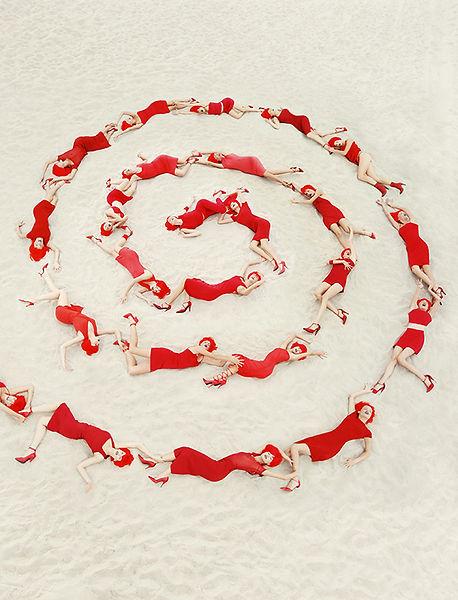 David LaChapelle, Spiral Jetty, 1997