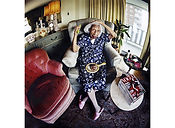 David LaChapelle, A Person Confined Indoors Due To Illness or Infirmity, Baruch Housing Project, West Chelsea, 2001