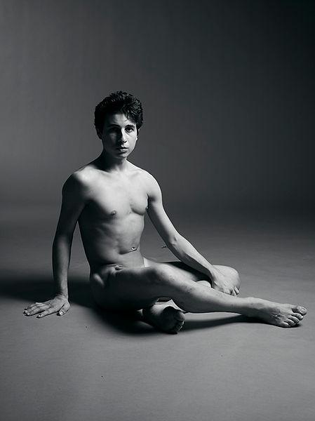 David LaChapelle, Untitled (Transcending Form: Vincent Looking Ahead), 2011