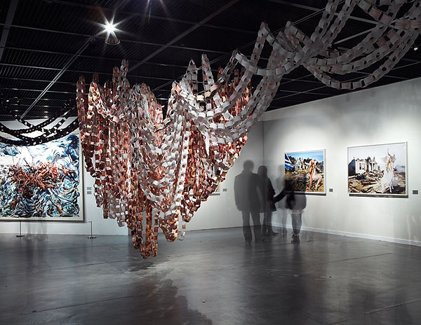 David LaChapelle, Raft of Illusion (Installation View), 2009