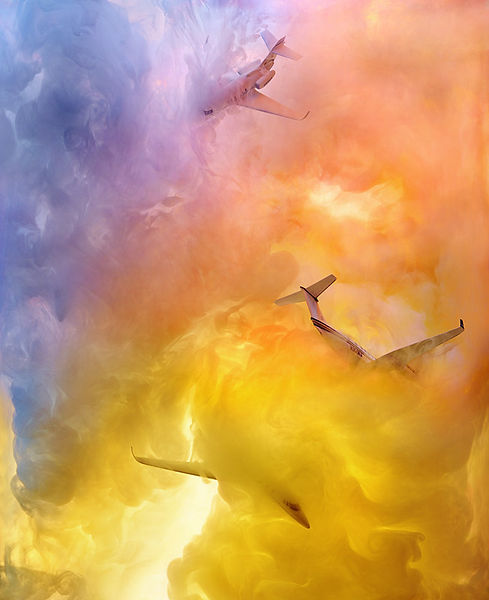 David LaChapelle, Aristocracy: Lost in the Clouds of Luxury, 2014