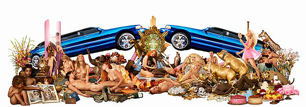 David LaChapelle, Decadence: The Insufficiency of All Things Attainable, 2008