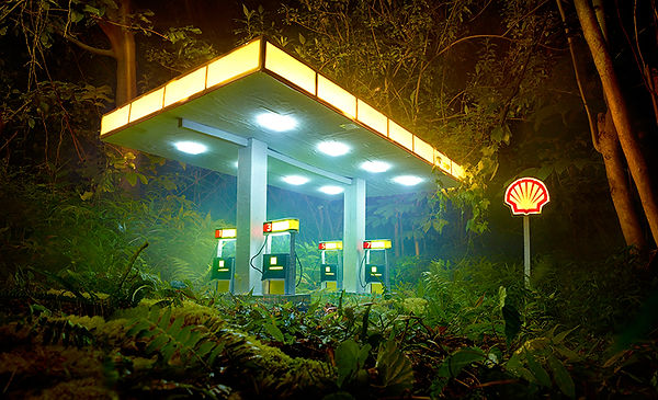 David LaChapelle, Gas Shell, 2012