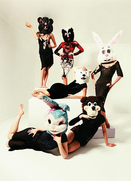 David LaChapelle, Six Most Photographed Models, 1997