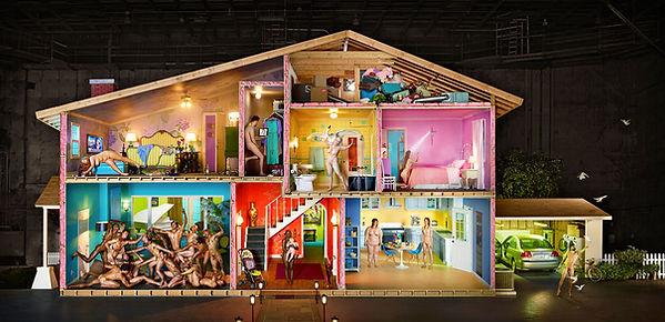 David LaChapelle, Self-Portrait as House, 2013
