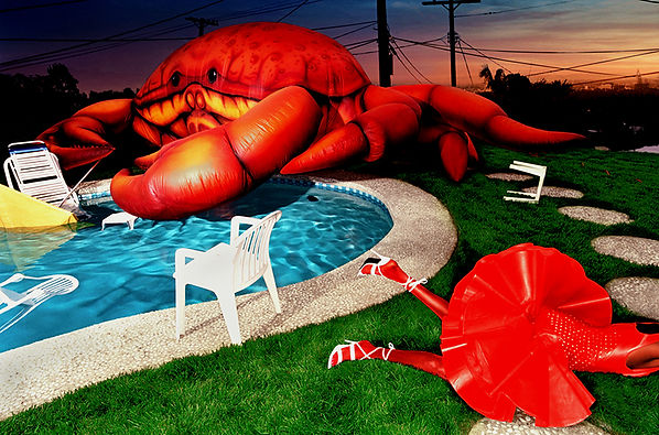 David LaChapelle, Crustacean Invasion, 2001