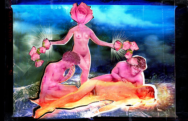 David LaChapelle, All of the Flowers Decided to glow
