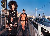 David LaChapelle, Untitled (Anthony on Leash), 2002