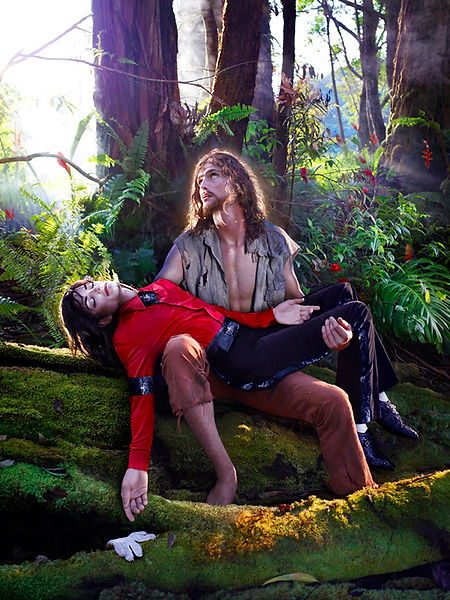 David LaChapelle, American Jesus: Hold Me, Carry Me Bodly, 2007