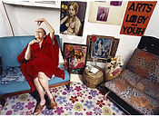 David LaChapelle, A Person Confined Indoors Due To Illness or Infirmity, West 9th St., 2001 ​