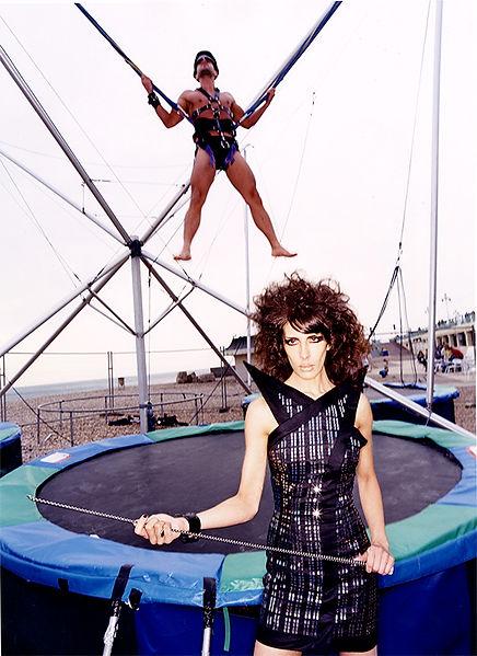 David LaChapelle, Suspended Amusement, 2002