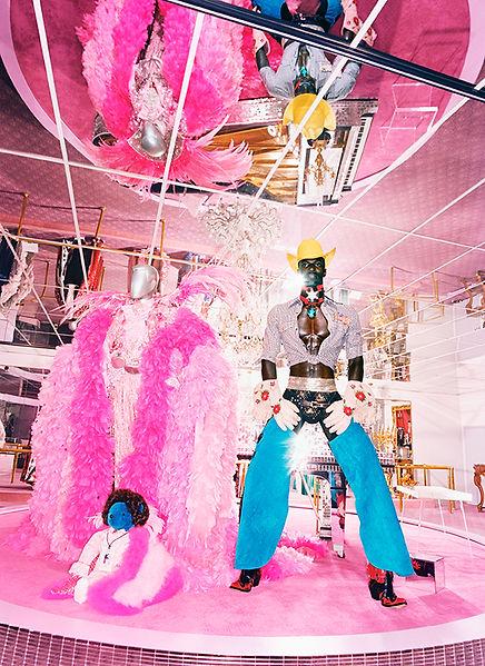 David LaChapelle, It's Dangerous to Be Poor, 2003
