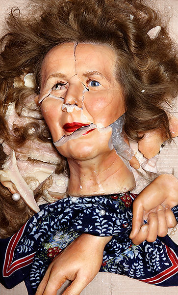 David LaChapelle, Still Life: Margaret Thatcher, 2009-2012