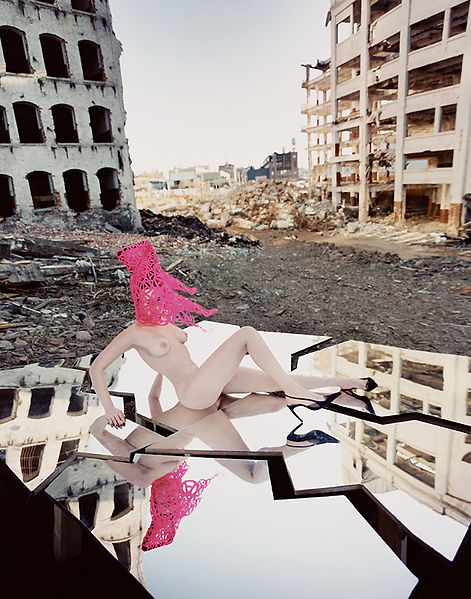 David LaChapelle, Pink Anarchy, 1999
