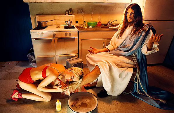 David LaChapelle, Anointing, 2003