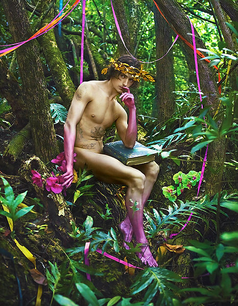 David LaChapelle, The Prophets and Teachers the Artists You and I, 2015