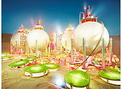 David LaChapelle, Land Scape: Anaheim 2013