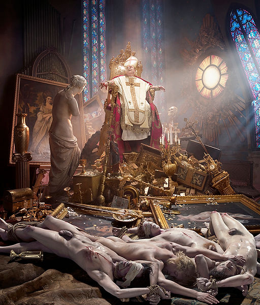 David LaChapelle, Thy Kingdom Come, 2009