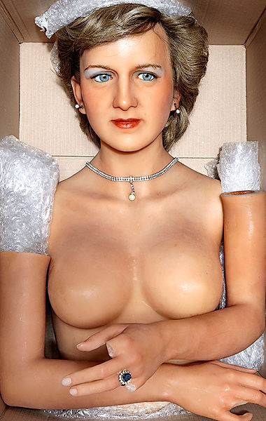 David LaChapelle, Still Life Princess Diana, 2009-2012