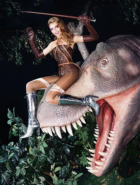David LaChapelle, Endangered Species, 2004