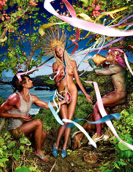 David LaChapelle, Rebirth of Venus, 2011