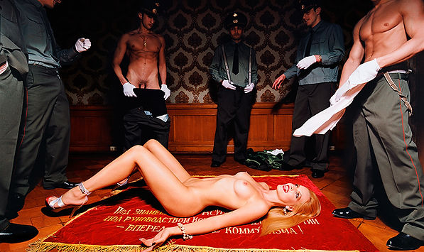 David LaChapelle, Untitled (Officers 2), 2003
