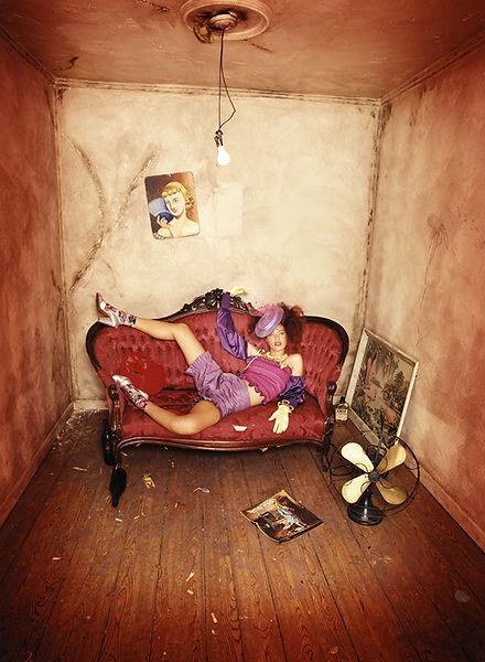 David LaChapelle, Brandi Unwinding, 1995