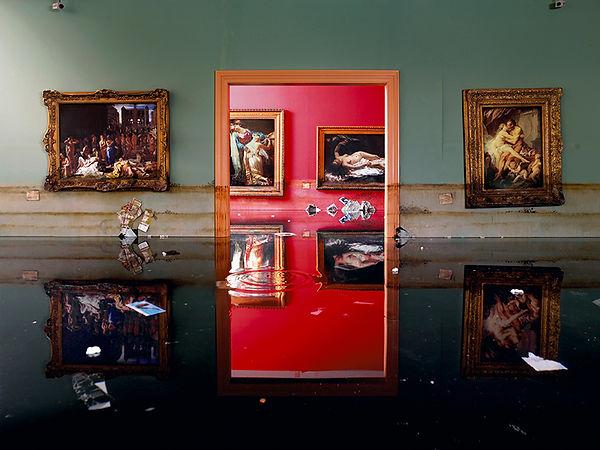 David LaChapelle, After the Deluge: Museum, 2007