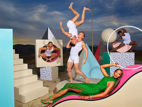 LaChapelle for Bottega Veneta x Naomi Campbell & Travis Scott