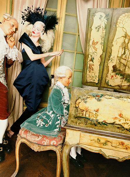David LaChapelle, Young Mozart in Wax, 1995