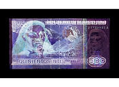 David LaChapelle, Negative Currency: 500 Pen Used As Negative, 2015